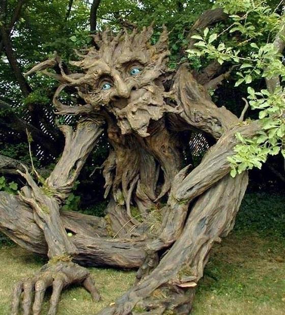 magnifiques sculptures avec les branches des arbres cocktail. Black Bedroom Furniture Sets. Home Design Ideas