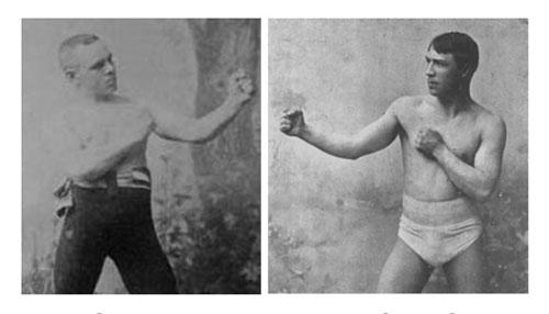 Andy Bowen (à gauche) & Jack Burke (à droite)