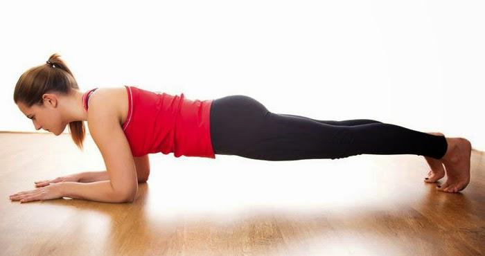 la planche abdominale