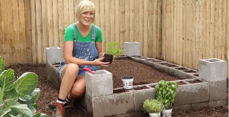 12 avantages utiliser les blocs de b ton pour faire for Bloc beton jardin