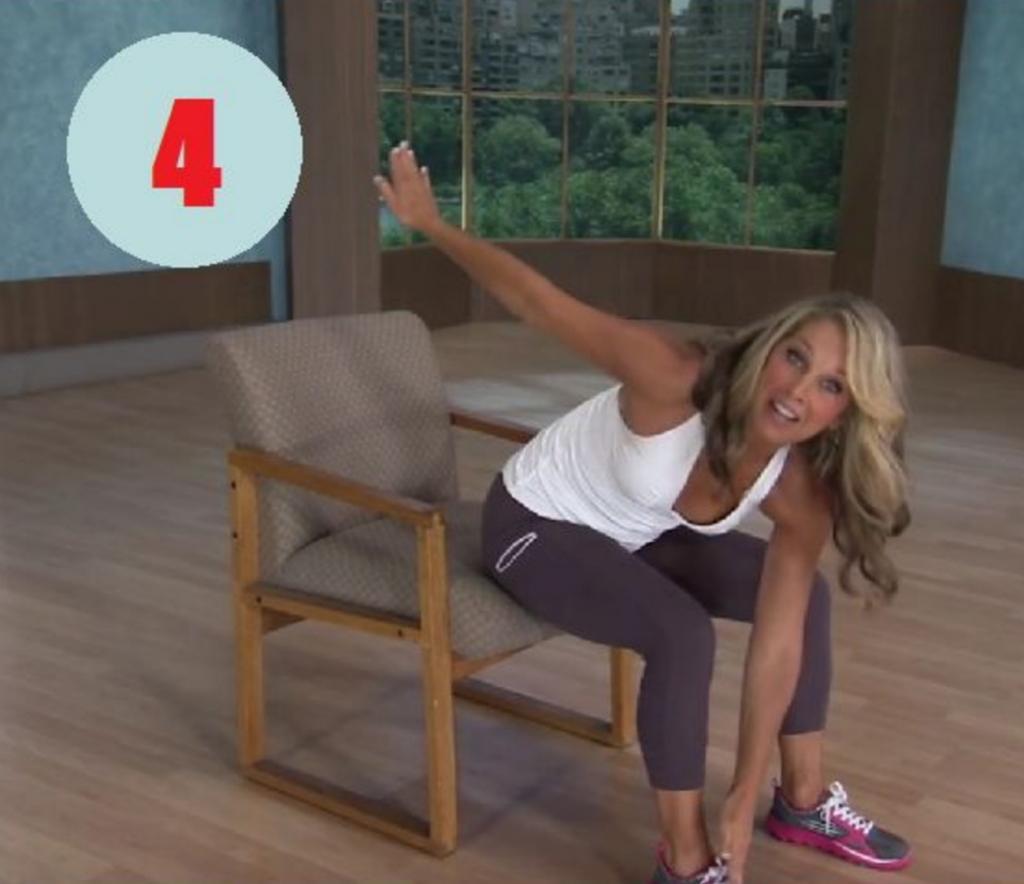 Voici des exercices faire quand vous tes assis sur une for Abdos assis sur une chaise