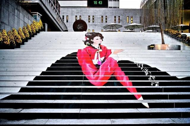 Des escaliers qui valent un coup d il cocktail - Oeil qui gonfle d un coup ...