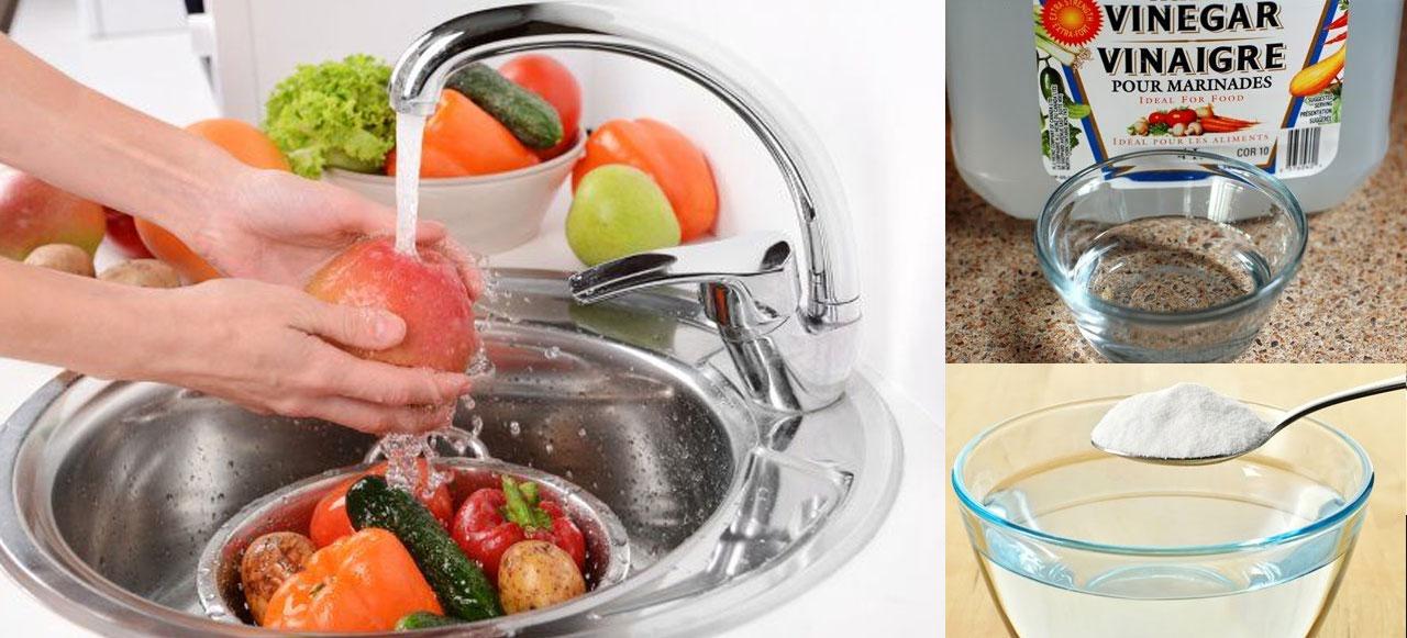 voici comment nettoyer vos fruits et l gumes pour liminer les pesticides cocktail. Black Bedroom Furniture Sets. Home Design Ideas